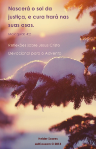 Capa Devocional Advento