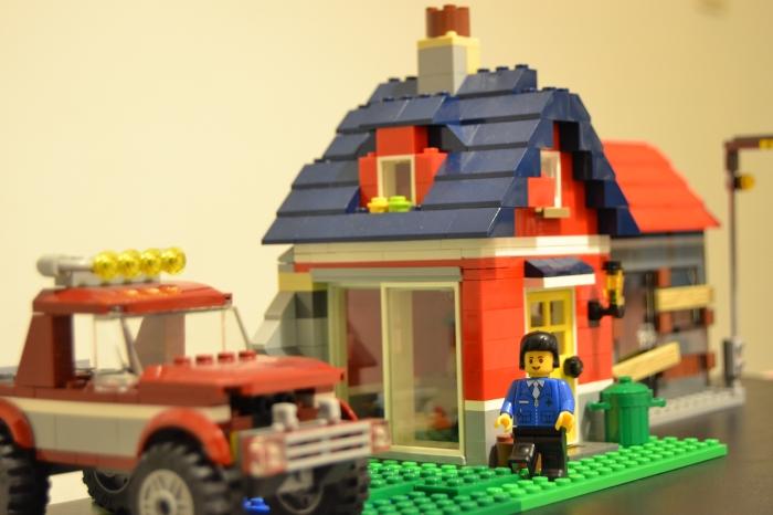 Tudo parecia correr bem em mais um dia na LegoCity...